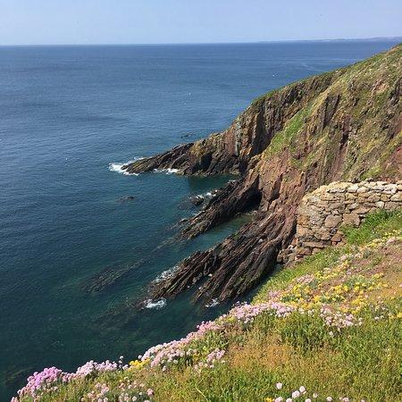 Caldey Island, UK: photo2.jpg