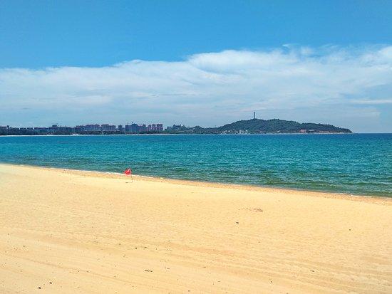 Haitang Bay: Пляж