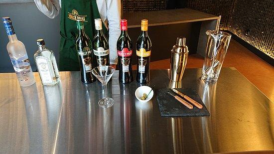 """Maison Noilly Prat: L'atelier """"Faire son Dry Martini"""""""