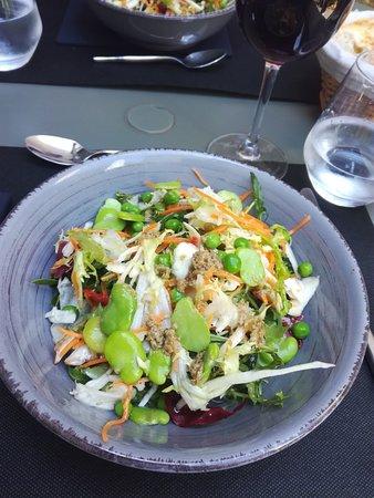 Boulbon, Francja: Salade Fraîche avec son Anchoïade