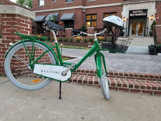 Hotel Weyanoke, Farmville, VA - bicycles available