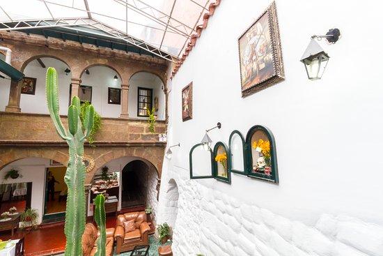 Royal Inti Cusco: Lobby & Detalles decoración