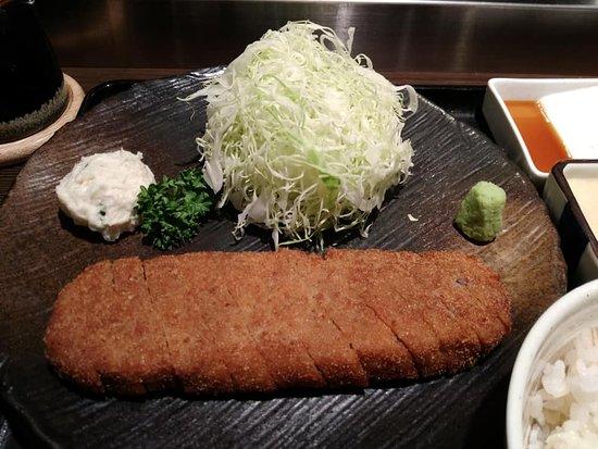 Gyukatsu Motomura Shibuya Bun: 炸牛