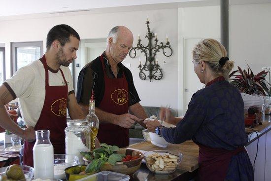 Radicondoli, إيطاليا: Cooking!