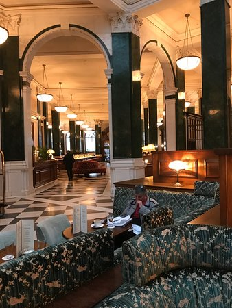 The Ned: The hotel has been beautifully developed in what was the Old Midland Bank