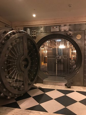 The Ned: Imagine dining in the vault -all original