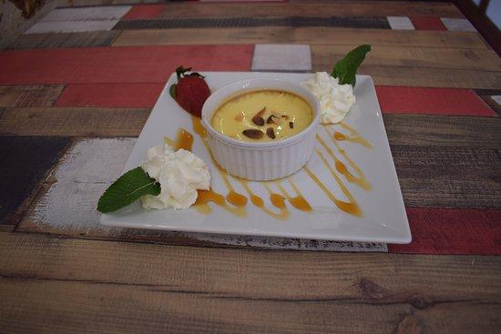 L'Escalier Grill: Crème caramel maison