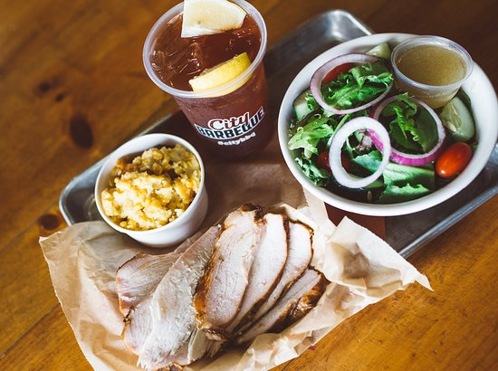 City Barbeque: BBQ is healthy!