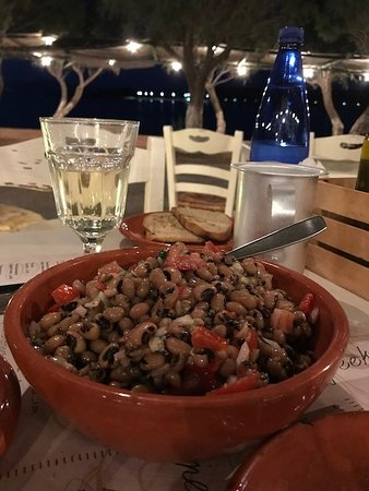 ‪‪Diakofti‬, اليونان: Black Eyed Pea Salad‬
