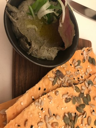 NOPI: Spring Onion dip - Smoky and Rich