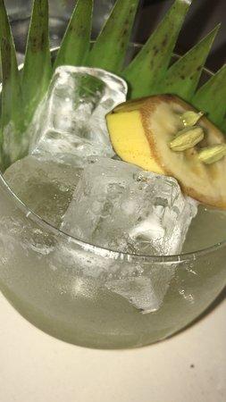 NOPI: Banana and Cardamon cocktail