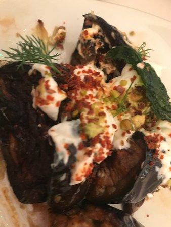 NOPI: Aubergine Salad