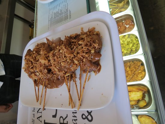 Jordaan Food Tour: Chicken satay