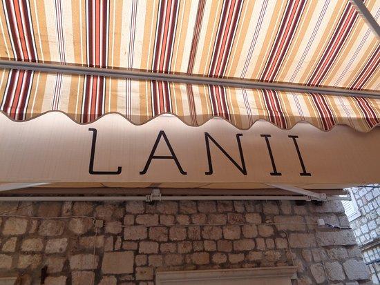 Restaurant Lanii: Terras