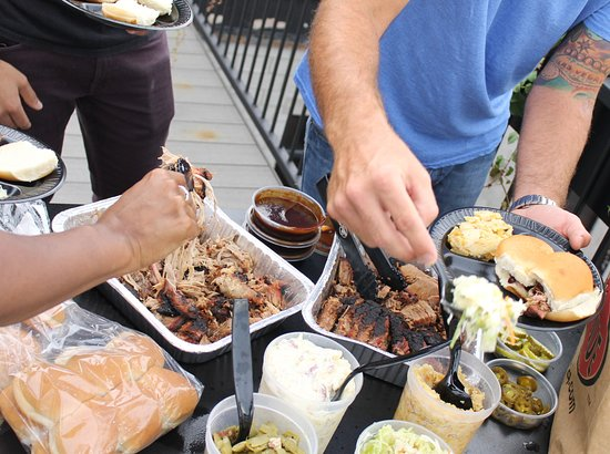 City Barbeque: Grab a party pack for your crew.