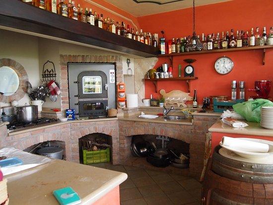 Viguzzolo, Italie : sala degustazioni