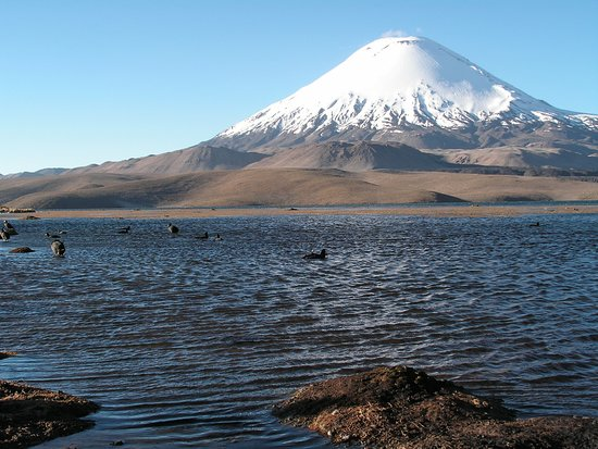 Parque Nacional Lauca: Volcán Parinacota & Lago Chungará