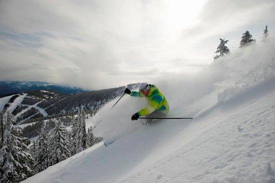 Silver Mountain Resort Lodging: Ski Hill