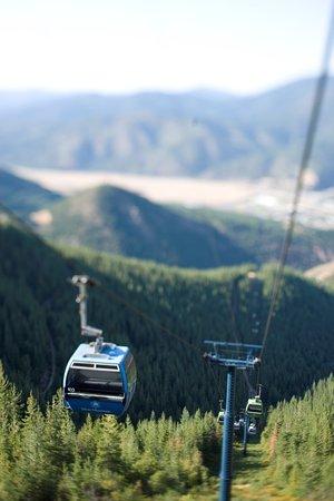 Silver Mountain Resort Lodging: Gondola