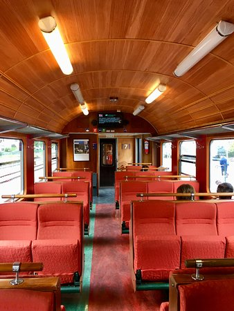The Flam Railway: Grab a seat by a window and sit the other side on the way back