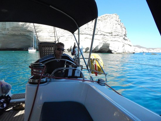 Golden Boheme Yachting Co: One of the most experience captain - Capt. Kostas!!!