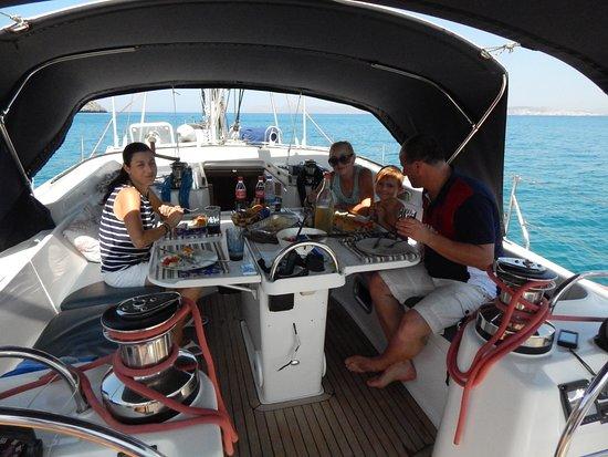Golden Boheme Yachting Co: Unique family time with unique gastronomy !!!!