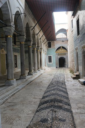 Topkapi Palace: Harem - Cortile degli eunuchi