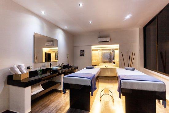 Hotel Porton Medellin: Sala para relajación (masajes)