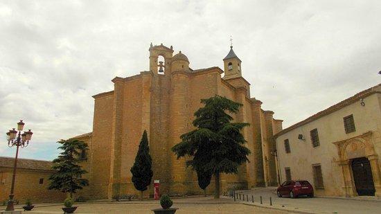 Castile-La Mancha, Spain: Plaza de la Villa. Iglesia de la Asunción (BIC)