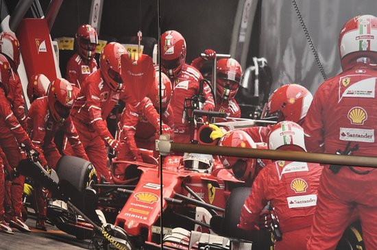 Museo Ferrari: mural