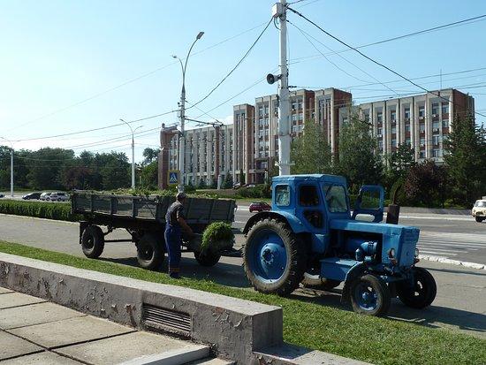 Transnistria, Moldova: Etwas angestaubt