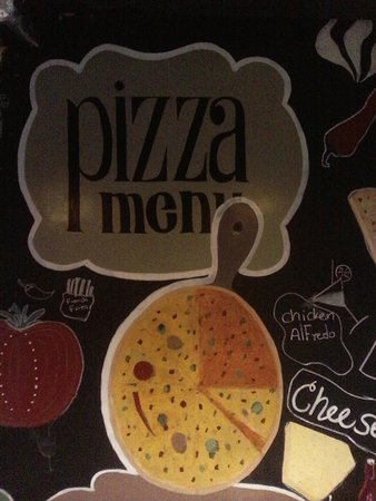 Vito Wood Fired Pizza: Wall decoration inside the restaurant.