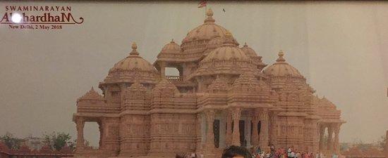 Swaminarayan Akshardham: vista exterior