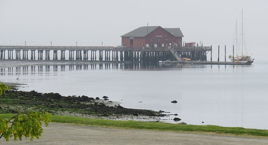 Schooner Suva at the Coupeville (Whidbey Island) Wharf