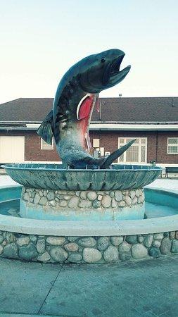Kalkaska, ميتشجان: National Trout Memorial