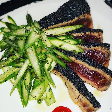 Map Restaurant & Bar: Carbonara rivisitata, con asparagi, guanciale e pecorino!!!