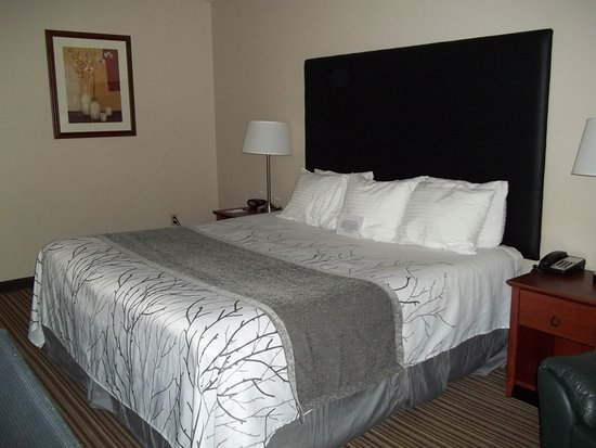 Mauston, WI: King Bed room