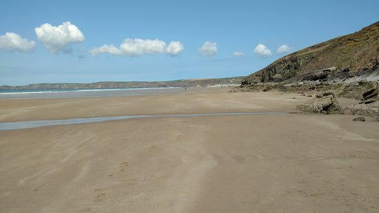 Beach at Newgale, Pembrokeshire, Wales (from South)