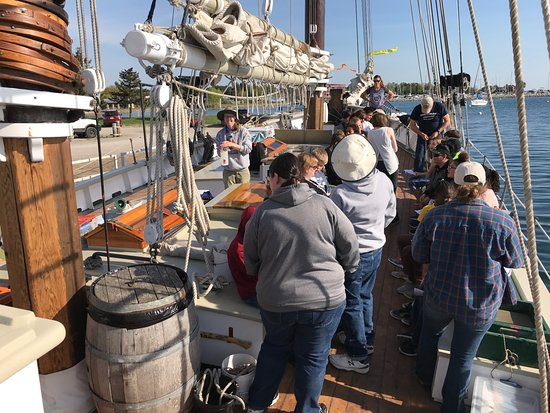 Tall Ship Manitou - Day Tours: Educational sail for students learning about the health of the Great Lakes.