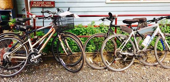 Wedgwood Inn of New Hope, PA, USA: Biking around New Hope, Pa with Wedgwood Inn as the base is the best!