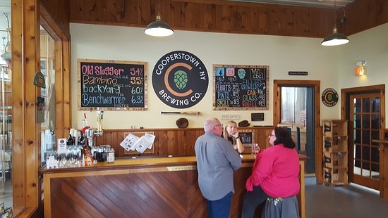 Milford, NY: Step up to the bar- standing room only