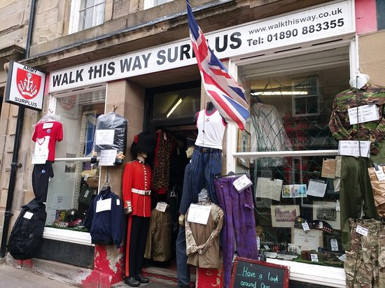 Walk This Way - Military Surplus Store