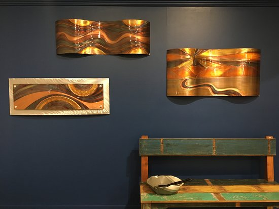 Harmony Ridge Gallery: Copper wall art