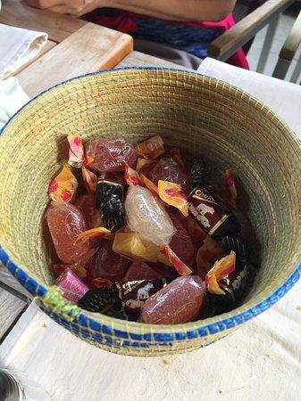 La Table de St Pierre: 最後送的糖果
