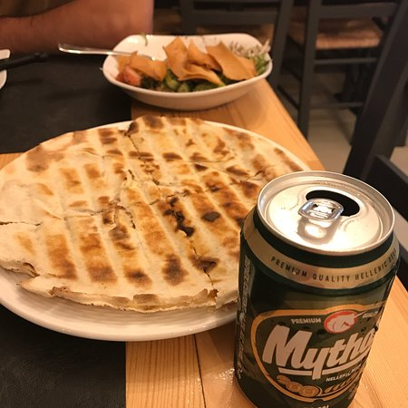 Mezza Lebanese Cuisine: I know we come to greece to eat greek food, but why not try Lebanese food. Best lebanese food I