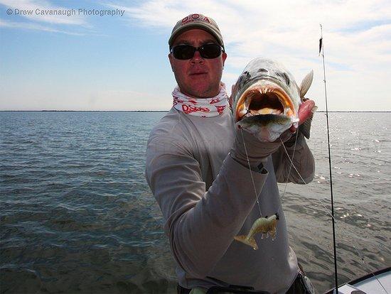 Oak Hill, FL: Captain Drew Cavanaugh of Florida Inshore Fishing Charters Located Near Orlando