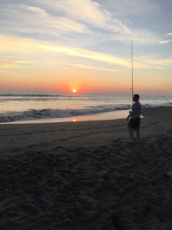 Hobe Sound, FL: Catch dinner while watching the sunrise.