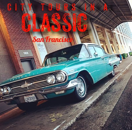 Sausalito, Californien: Classic car tours San Francisco