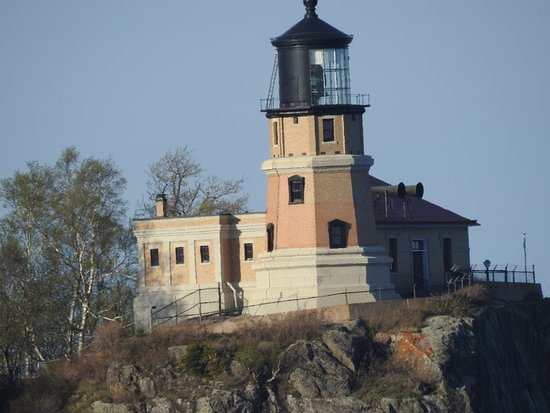 Split Rock Lighthouse State Park: near sunset at camp