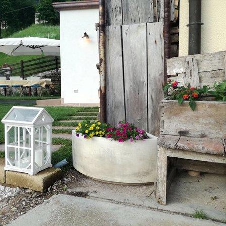 Casa Cortiana: Scorci del locale e giardino
